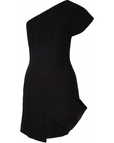 Платье мини трикотажное на одно плечо Chapurin