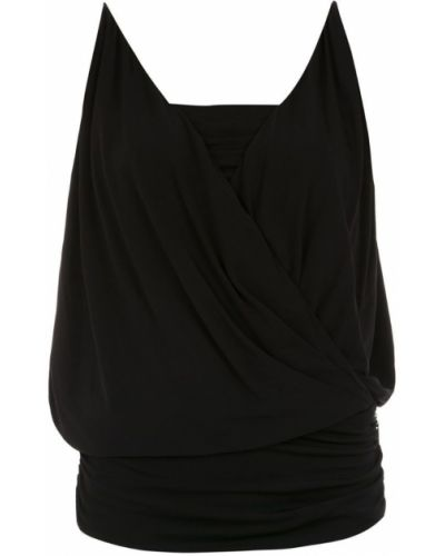 Блузка без рукавов - черная Tufi Duek