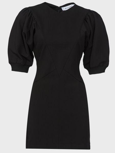 Платье из вискозы - черное Elliatt