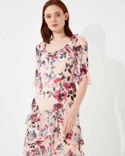 Платье розовое весеннее French Connection