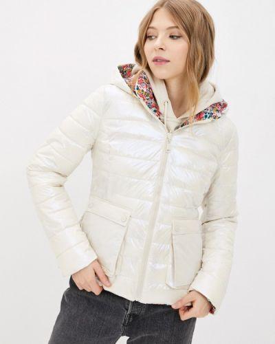 Утепленная белая куртка Tantra