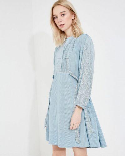 Голубое платье French Connection