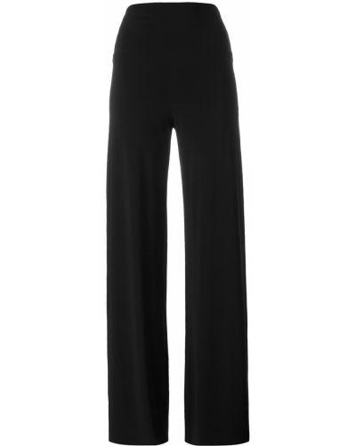 Свободные брюки черные Norma Kamali