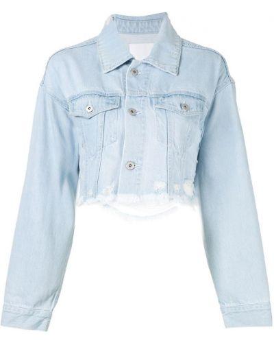 Серая джинсовая куртка на пуговицах Ground Zero