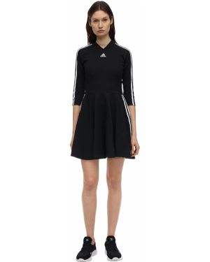 Платье в полоску с воротником Adidas Performance