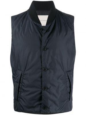 Пальто с воротником - синее Mackintosh