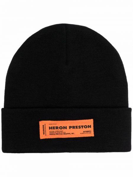 Шапка бини - черная Heron Preston