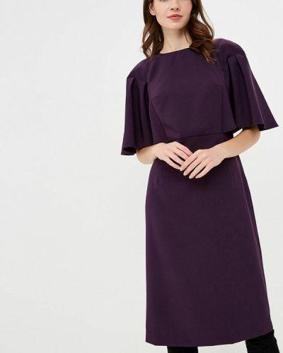Платье осеннее фиолетовый Irina Vladi