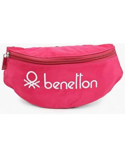Розовый футляр для очков United Colors Of Benetton