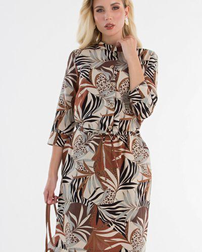Льняное платье Lady Taiga