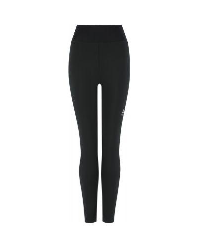 Черные брюки софтшелл для бега Odlo