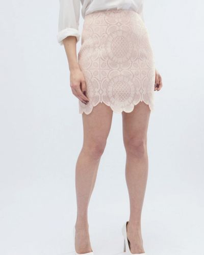 Розовая юбка Carica&x-woyz