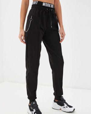 Спортивные брюки черные Malaeva