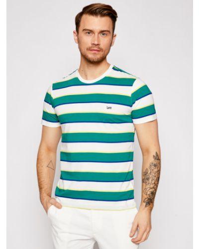 T-shirt - zielona Lee