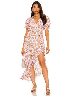 Fioletowa sukienka vintage Tularosa