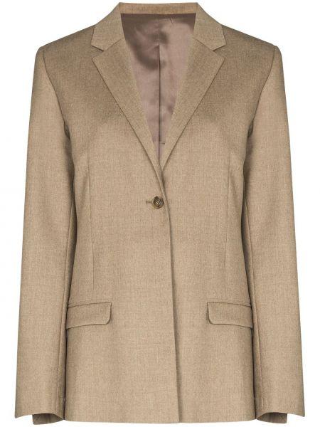 Однобортный удлиненный пиджак на пуговицах Toteme