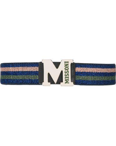 Ремень синий M Missoni