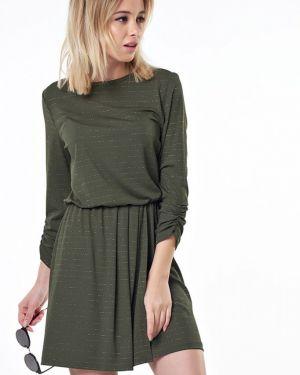 Платье с поясом с запахом платье-сарафан Fly