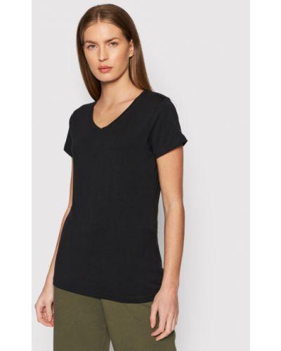 T-shirt - czarna Outhorn
