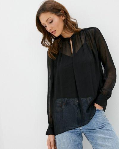 Черная блузка с оборками Joop!