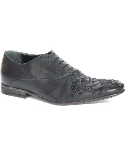 Туфли черные John Richmond