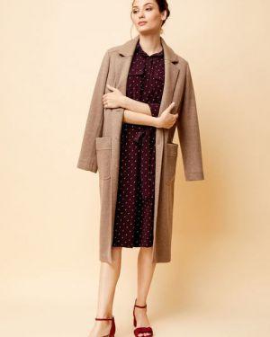 Пальто вязаное шерстяное Ostin