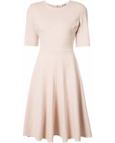 Платье миди мини платье-солнце Jil Sander