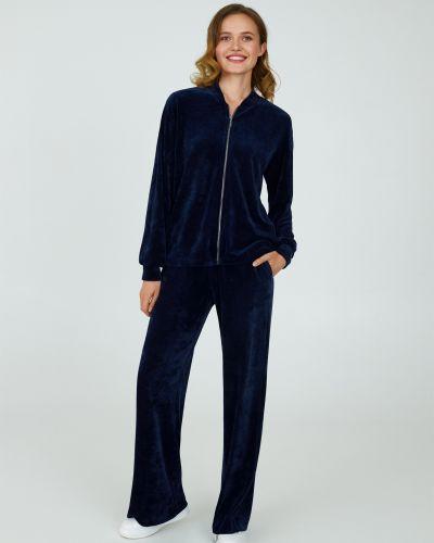 Велюровый костюм - синий Ellen