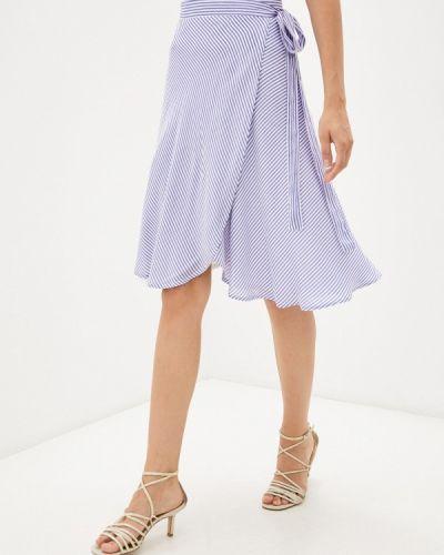 Синяя весенняя юбка Gloss