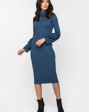 Платье вязаное осеннее Gloss