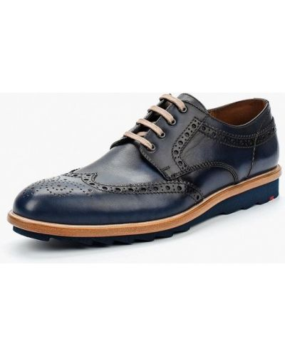 Синие туфли немецкие Lloyd