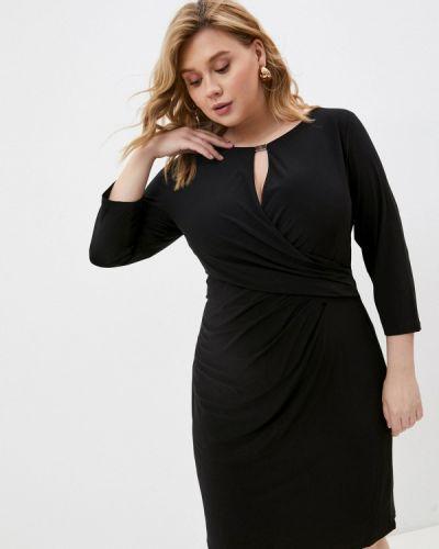 Черное вечернее платье Lauren Ralph Lauren Woman