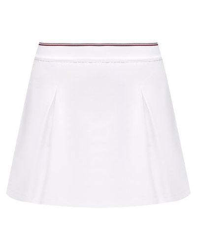 Белая юбка-шорты Tommy Hilfiger