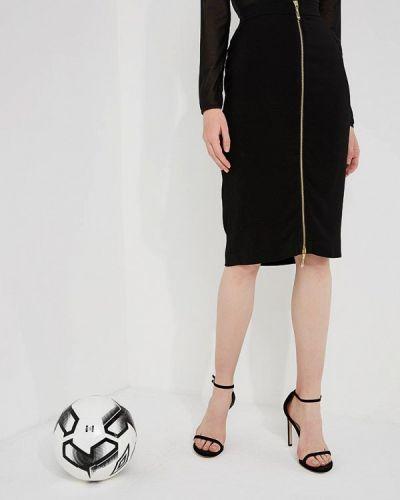 Черная юбка облегающая Just Cavalli