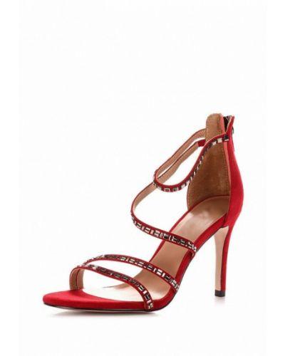 Красные босоножки на каблуке Blizzarini