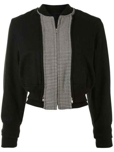 Куртка с поясом на молнии с воротником Comme Des Garçons Pre-owned