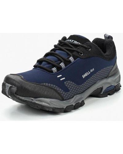 Синие кроссовки низкие Patrol