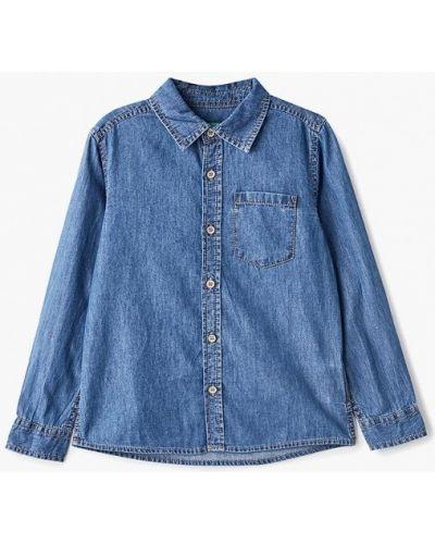 Синяя джинсовая рубашка United Colors Of Benetton
