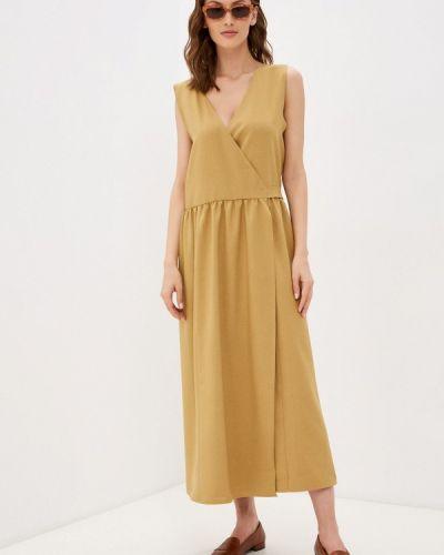 Желтое платье Be Main