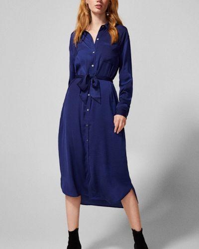 Платье - синее Springfield