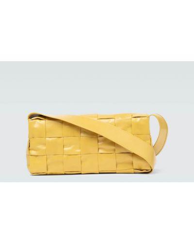 Кожаный ремень с поясом для полных Bottega Veneta