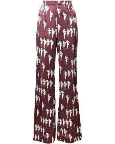 Прямые брюки с воротником Jill Stuart