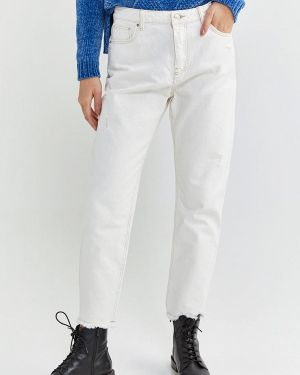 Прямые джинсы белые Springfield