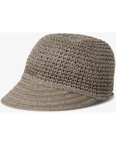 Beżowa czapka z daszkiem Loevenich