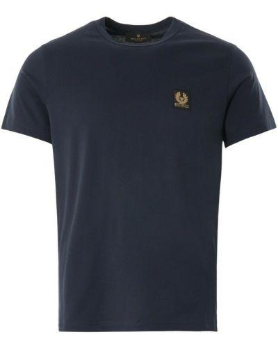 Niebieska t-shirt Belstaff