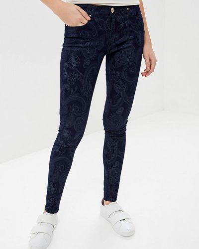Синие брюки повседневные Softy