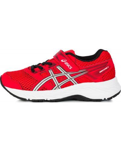 Кроссовки красные для бега Asics