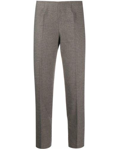 Укороченные брюки с завышенной талией брюки-хулиганы Piazza Sempione