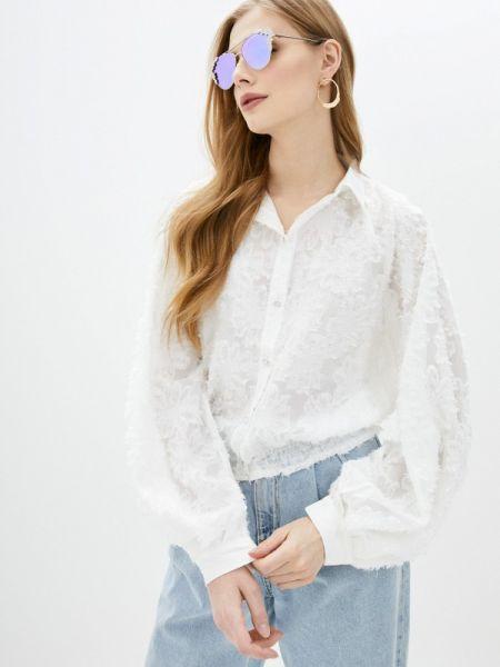 Блузка кружевная белая By Swan