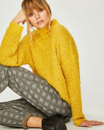 Вязаный свитер в полоску с узором Answear